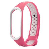 Ремешок для Xiaomi Band 3 Mijobs Sport (pink-white)