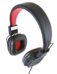 Накладные наушники Gemix Clarcs (Black/Red)