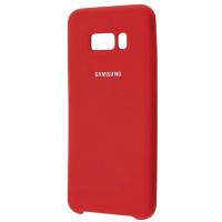 Чехол Silky Samsung Galaxy S8+ (бордовый)