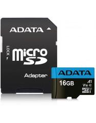 Карта пам'яті Adata micro SD 16gb (10cl) + adapter