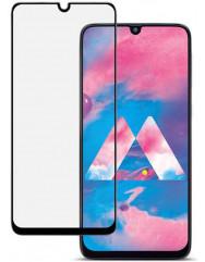 Стекло бронированноематовое Samsung Galaxy A40 (5D Black)