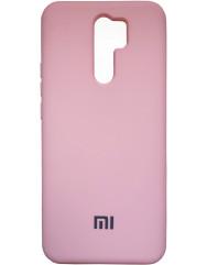 Чехол Silicone Case Xiaomi Redmi 9 (розовый)