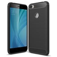 Чехол Carbon Xiaomi Redmi Note 5A (черный)