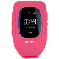 Смарт-часы ATRIX Smart watch IQ300 GPS (Pink)