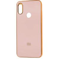 Чехол NEW ROCK Xiaomi Redmi Note 7 (розовый + золото)