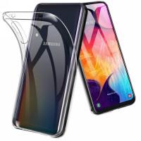 Чехол силиконовый Samsung Galaxy A50 / A50s / A30s (прозрачный)