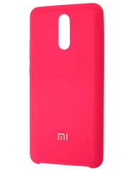 Чехол Silky Xiaomi Redmi 8 (ярко-розовый)