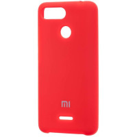 Чехол Silky Xiaomi Redmi 6 (красный)