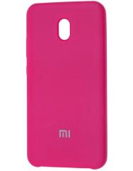 Чохол Silky Xiaomi Redmi 8a (яскраво-рожевий)