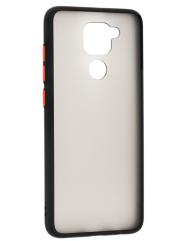 Чохол LikGus Maxshield матовий Xiaomi Redmi Note 9 (чорний)
