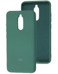 Чехол Silky Xiaomi Redmi 8 (темно-зеленый)