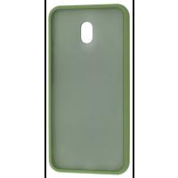 Чехол LikGus Maxshield матовый Xiaomi Redmi 8a (хаки)