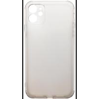Чехол усиленный матовый iPhone 11 (белый)