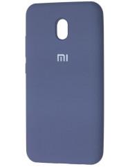 Чохол Silicone Case Xiaomi Redmi 8a (сірий)