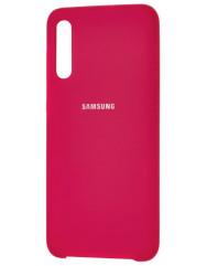 Чехол Silky Samsung Galaxy A50 / A50s / A30s (малиновый)