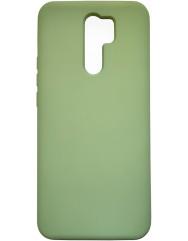 Чохол Silicone Case Xiaomi Redmi 9 (салатовий)