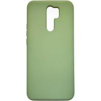 Чехол Silicone Case Xiaomi Redmi 9 (салатовый)