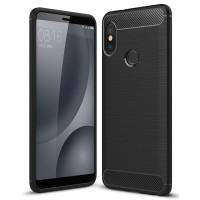 Чехол Carbon Xiaomi Mi A2/6x (черный)