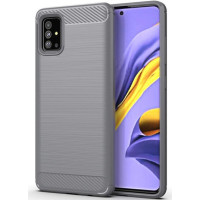 Чехол Carbon Samsung Galaxy A51 (серый)