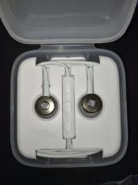 Вакуумные наушники-гарнитура Xiaomi M1 (белый)