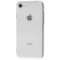 Чехол Soft Touch iPhone 7 (прозрачный)