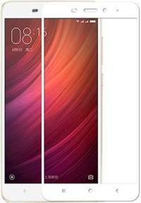 Защитное стекло Xiaomi Redmi Note 4x (3D White)