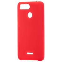 Чехол Soft Touch Xiaomi Redmi 6 (красный)