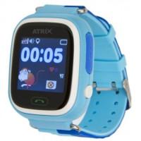 Смарт-часы детские ATRIX SW IQ400 Touch GPS (Blue)
