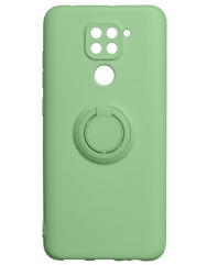 Чехол Ring Color Xiaomi Redmi Note 9 (зеленый)