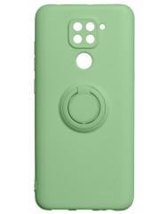 Чохол Ring Color Xiaomi Redmi Note 9 (зелений)