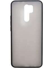 Чохол LikGus Maxshield матовий Xiaomi Redmi 9 (чорний)