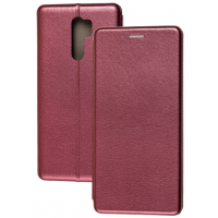 Книга Premium Xiaomi Redmi 9 (бордовый)