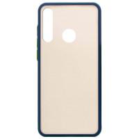 Чехол LikGus Maxshield матовый Huawei Y6p (темно-синий)
