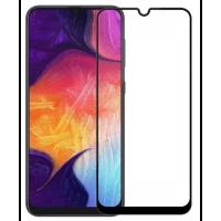 Защитная нано-пленка Silicon Glass Samsung Galaxy A40 (5D Black)