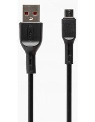 Кабель SkyDolphin S58V Micro USB 2.4A (чорний)