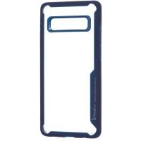 Чехол Ipaky TPU+PC Samsung Galaxy S10+ (синий)