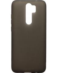 Чохол силіконовий матовий Xiaomi Redmi Note 8 Pro (чорний)
