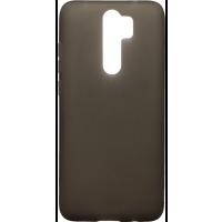 Чехол силиконовый матовый Xiaomi Redmi Note 8 Pro (черный)