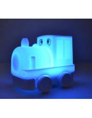 Силиконовая светодиодная лампа Colorful Silicone Train
