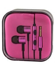Вакуумні навушники-гарнітура Xiaomi Piston (Pink)