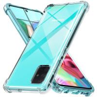 Чехол усиленный для Samsung Galaxy A51 (прозрачный)