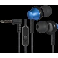 Вакуумные наушники Defender Pulse 470 (черный+синий)