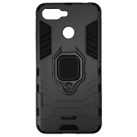 Чехол Armor + подставка Xiaomi Redmi 6 (черный)