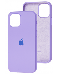 Чохол Silicone Case Iphone 12 Pro Max (лавандовий)