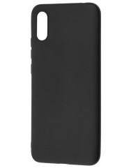 Чехол Soft Touch Xiaomi Redmi 9a (черный)