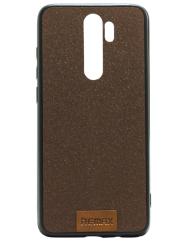 Чехол Remax Tissue Xiaomi Redmi Note 8 Pro (коричневый)