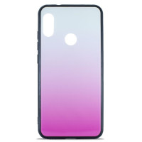 Чехол Glass Case Gradient Xiaomi Mi A2 Lite (Light Pink)