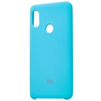 Чехол Silky Xiaomi Redmi Note 7 (голубой)