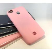 Чехол Silicone Case Xiaomi Redmi 4x (розовый)