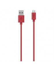 Belkin USB 2.0 Mixit Micro USB Charge/Sync Cable[F2CU012bt2M-RED]
